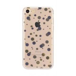 Xqisit Shell Dots Case For iPhone 7 – Clear