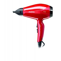 Babyliss Pro 2400W Hair Dryer (BAB6615SDE) - Red