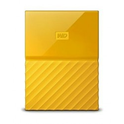WD 2TB My Passport USB 3.0 External Hard Drive - Yellow
