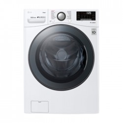 LG 17/10 KG Front Load Washer Dryer - White (WS1710WHT)