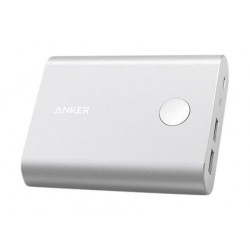 Anker PowerCore+ 13,400 mAh 3.0 Quick Charge Power Bank (A1316H41) - Silver