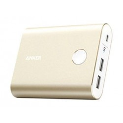 Anker PowerCore+ 13,400 mAh 3.0 Quick Charge Power Bank (A1316HB1) - Gold