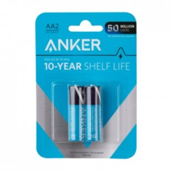 Anker AA Alkaline Batteries- 2 Pack in Kuwait | Buy Online – Xcite