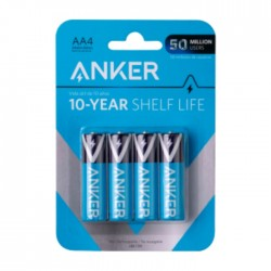 Anker AA Alkaline Batteries- 4 Pack in Kuwait | Buy Online – Xcite