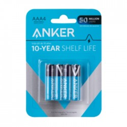 Anker AAA Alkaline Batteries- 4 Pack in Kuwait | Buy Online – Xcite
