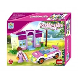 Alfabest Fashionlife Holiday Homes 3in1 Building Blocks