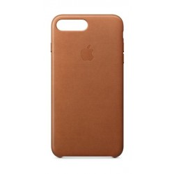 Apple iPhone 8 Plus and 7 Plus Leather Case - Saddle Brown Leather