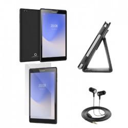 "Ctroniq X80 RAM 2GB, 16GB 4G 8"" Tablet + Cover, Screen Protector & Headset – Black"