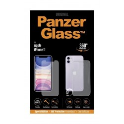 PanzerGlass Dual-360 Screen Protector & Soft Case for iPhone 11