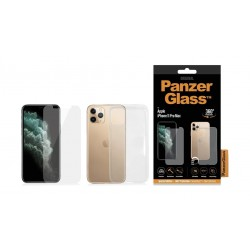 PanzerGlass Dual-360 Screen Protector & Soft Case for iPhone 11 Pro Max