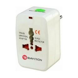 Baykron ITC001 Universal Travel Adapter - White