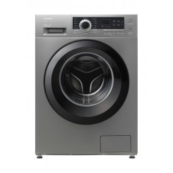 Hitachi 7KG Front Load Washing Machine (BD-70CVE 2206A) - Silver