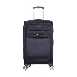 Polo Club Beverly Hills Large Soft Luggage - Black