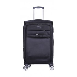 Polo Club Beverly Hills Medium Soft Luggage - Black