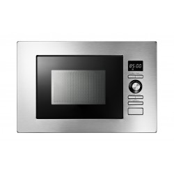 Baumatic 20 Liters Built-In Microwave Oven (BMEMWBI20SS) - Grey