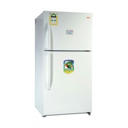 Basic BRD-774W 21.01 Cft Top Mount Refrigerator Stainless Steel - Frond View