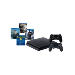 PlayStation 4 500GB + 3 Games + PSN 90 Days + PS4 DS4 Controller