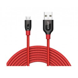 Anker Powerline Micro USB Cable 3M - Red