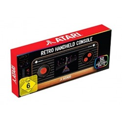 Atari Retro Handheld Console with 50 Built-in Games