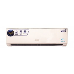 Basic Halo 18000 BTU Heating and Cooling Split AC with Wi-Fi - BSACH-F18HD