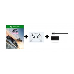 Microsoft Xbox One Controller + Xbox One Forza Horizon 3 Game + Xbox One Play & Charge kit