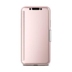 Moshi StealthCover Portfolio Case for Apple iPhone XS/X - Champagne Pink