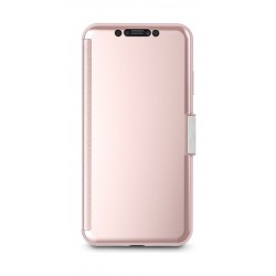 Moshi StealthCover Portfolio Case for Apple iPhone XS MAX - Champagne Pink