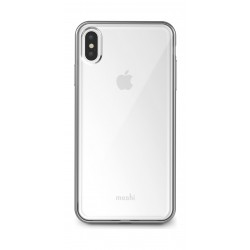 Moshi Vitros Clear Case for Apple iPhine XS MAX - Jet Silver