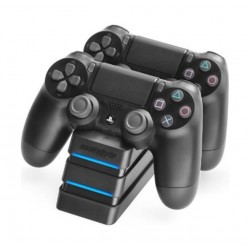 Snakebyte Twin Charge 4 Docking Station for Playstation 4 Dualshock Controller