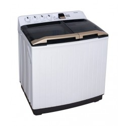 Toshiba 12KG Twin Tub Washing Machine (VH-H130WBB) - White