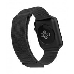 X-Doria Milanese Band Wrist Strap for Apple Watch 38 mm - Black
