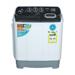 Basic 13KG Twin Tub Washing Machine (BW-T1300) - White