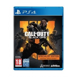 Call of Duty: Black Ops 4 Specialist Edition - PlayStation 4 Game