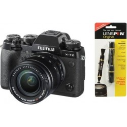 Fujifilm X-T2 Mirrorless Digital Camera with 18-55mm Lens + Fuji LensPen Lens Cleaner