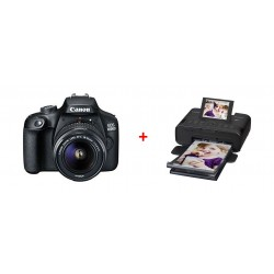 Canon EOS 4000D 18MP Wi-fi With 18-55 Lens DC + Canon SELPHY CP1300 Compact Photo Printer - Black 3