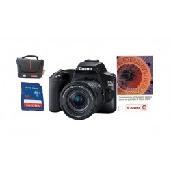 Canon EOS 250D 18-55mm DC III Digital Camera + Training Voucher + Bag + Memory Csrd