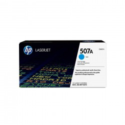 HP 507A Cyan Ink Toner Cartridge