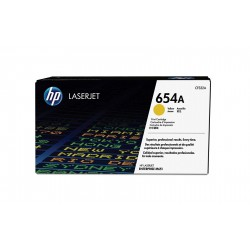 HP 654A Yellow Ink Toner Cartridge