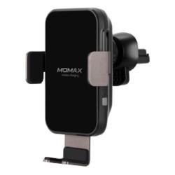 Momax Q.Mount Smart Auto-clamp Wireless Charging Car Mount - black