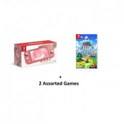 Nintendo Switch Lite Gaming Console Coral Pink in KSA | Buy Online – Xcite