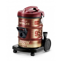 Hitachi 2000W 18 L Drum Vacuum Cleaners -(CV950Y-WR)