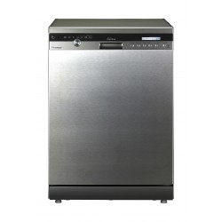 LG TrueSteam 7 Programs 14 Place Setting Freestanding Dishwasher (D1465CF) -  Silver
