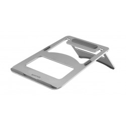 Promate Deskmate 3 Universal Anodized Aluminum Laptop Stand - Silver