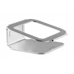 Promate Deskmate 2 Universal Anodized Aluminum Laptop Stand - Silver