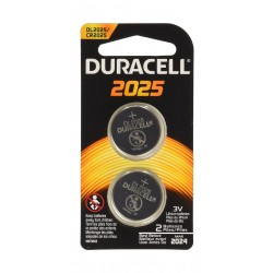 Duracell 2025 Coin Button Batteries