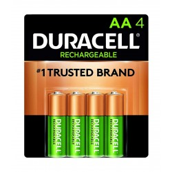 Duracell AA 4 Rechargeable Batteries