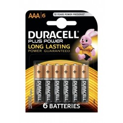 Duracell AAA Plus Power Battery - 6 Batteries