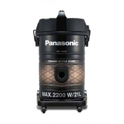 Panasonic 2200W Bagless Drum Vacuum Cleaner (MC-YL635T747) – Black