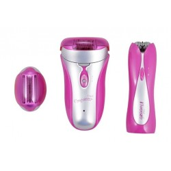 Emjoi Emagine and iTweeze Body Trimmer Set (AP18/AP17T) - Pink