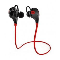 Aukey Bluetooth 4.1 Wireless Stereo Sport Earphones (EPB4) - Red